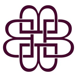 Emilia - Medium Stone Covered Hoops Cerise